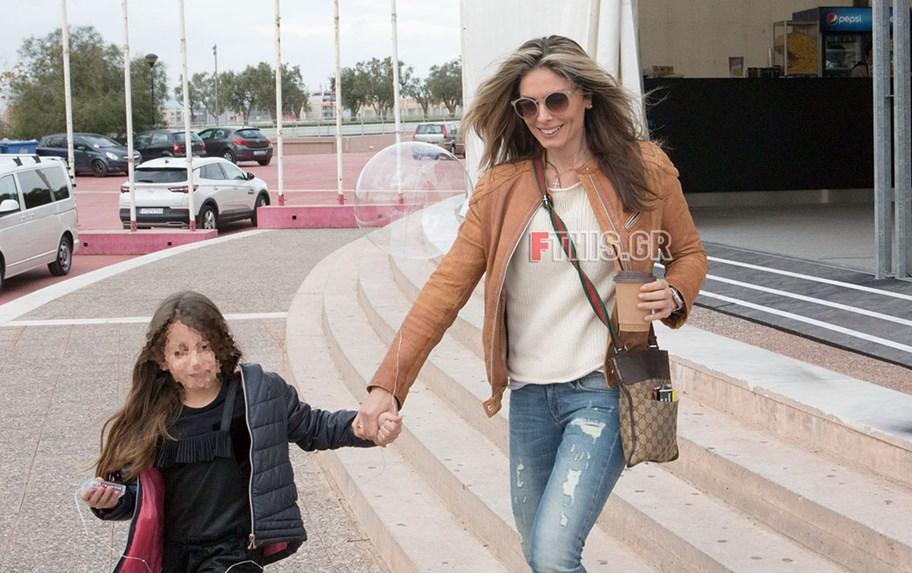Κατερίνα Λάσπα: Πρωινή έξοδος με την κόρη της, Σάρα!