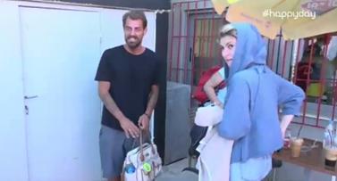 Στέλιος Χανταμπάκης: Η πρώτη δημόσια εμφάνιση μετά την επιστροφή του στην Ελλάδα!