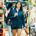 Paparazzi: Η Σταματίνα Τσιμτσιλή στις νέες της αγορές