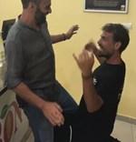 Survivor: Δείτε τον ξέφρενο χορό Χανταμπάκη - Χούτου, μετά την αποχώρηση του ποδοσφαιριστή!