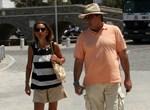 Paparazzi! Η Όλγα Τρέμη με τον σύζυγό της στην Πάρο