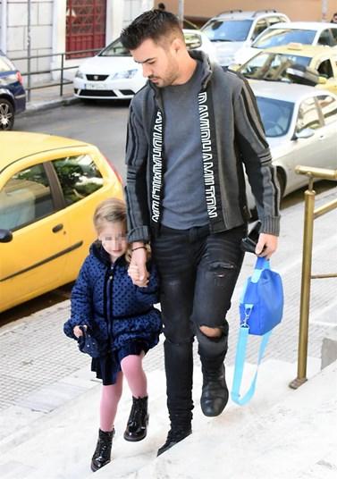 Γιάννης Τσιμιτσέλης: Πέρασε ολόκληρη την ημέρα του με την κόρη του, Εύα!
