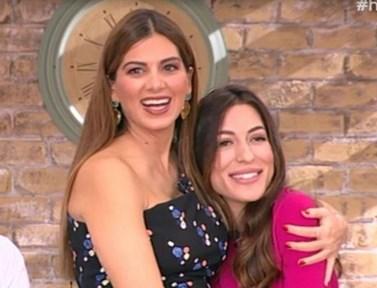 Οι εγκυμονούσες Σταματίνα Tσιμτσιλή και Φλορίντα Πετρουτσέλι έκαναν μαθήματα ανώδυνου τοκετού on air!