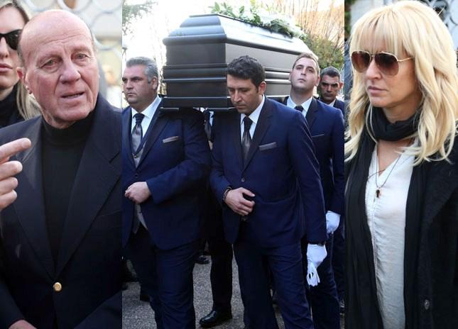 """Το """"τελευταίο αντίο"""" στον Τάκη Λουκανίδη - Φωτογραφίες"""