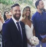Ο Γιάννης Βαρδής και η Νατάσα Σκαφιδά παντρεύτηκαν! Δείτε 15 φωτογραφίες από τον γάμο τους στη Λήμνο
