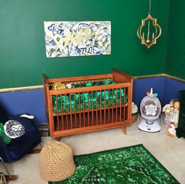 Η πασίγνωστη ηθοποιός μας δείχνει το πρωτότυπο δωμάτιο του νεογέννητου μωρού της!