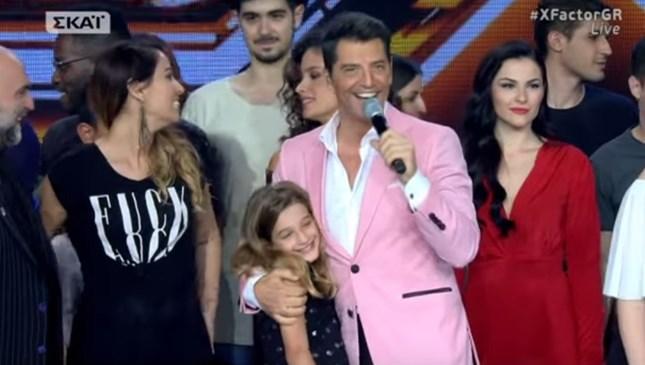 X-Factor: Στη σκηνή του τελικού με την κόρη του Αναστασία, ο Σάκης Ρουβάς