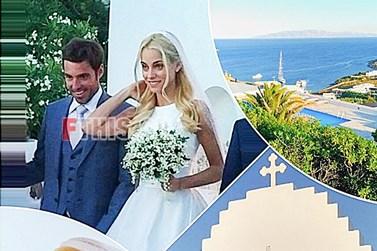 Paparazzi! Δούκισσα Νομικού - Δημήτρης Θεοδωρίδης: Νέες φωτογραφίες από τον γάμο τους στην Μύκονο!