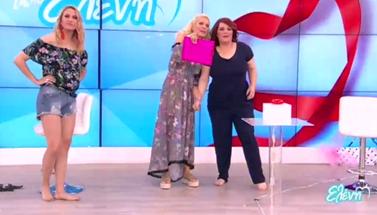 Ελένη Μενεγάκη: Η μητέρα της στο πλατό της εκπομπής της!