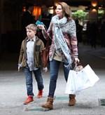 Τζένη Μπαλατσινού: Ταξίδι στη Βαρκελώνη με τον γιο της, Μάξιμο