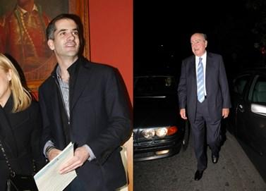 Ο Κώστας Μπακογιάννης αποχαιρετά δημόσια τον παππού του, Κωνσταντίνο Μητσοτάκη