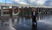 Εβελίνα Παπούλια: Εντυπωσιαμένη από το ταξίδι στο Εδιμβούργο με το Νίκo Κοκλώνη!