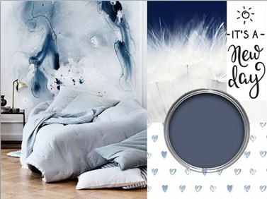 Μπλε: το ιδανικό χρώμα για την κρεβατοκάμαρά μας