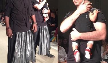 Πασίγνωστος Έλληνας έκανε πασαρέλα με τον έξι μηνών γιο του!