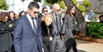 Θλίψη στην κηδεία του Γιάννη Καψή