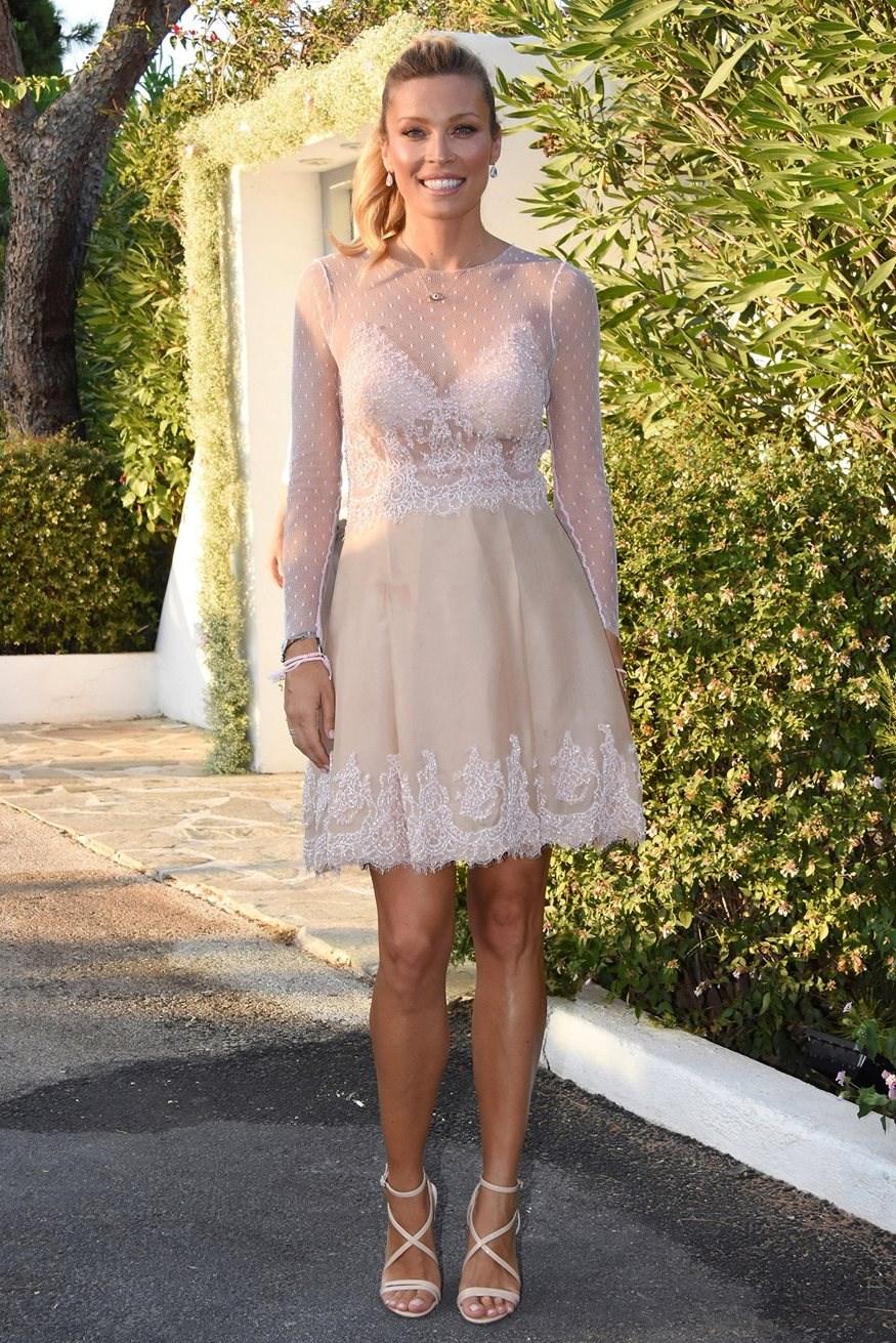 Η πιο όμορφη εγκυμονούσα, η Μαριέττα Χρουσαλά! Δες τη διαφορετική εμφάνιση που έκανε σε  party γενεθλίων