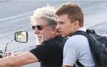 Γιάννης Βούρος: Βόλτα με τη μηχανή μαζί με τον δεκαεννιάχρονο γιο του!