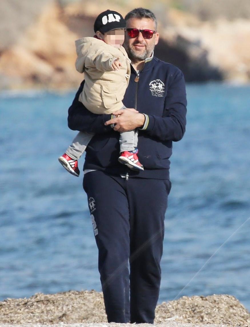 Γιώργος Λιάγκας: Αποκαλύπτει για πρώτη φορά το πρόσωπο του γιου του!