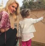 Ελένη Μενεγάκη: Μας δείχνει το δώρο που έκανε στην κόρη της, Μαρίνα!