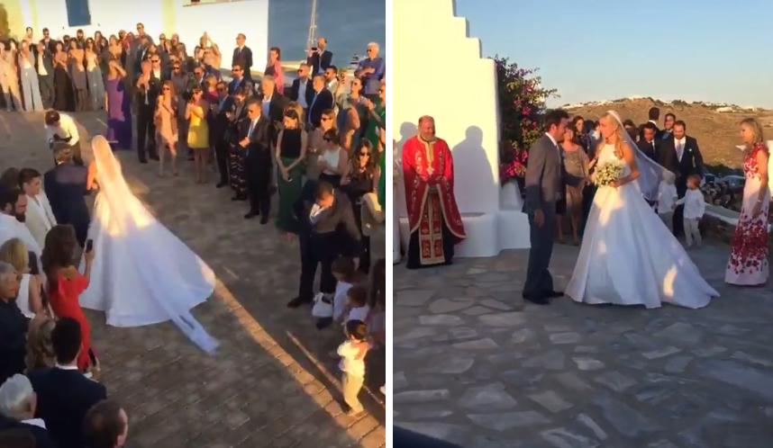 Γνωστός Έλληνας χώρισε και πήγε... single στον γάμο της Δούκισσας Νομικού!