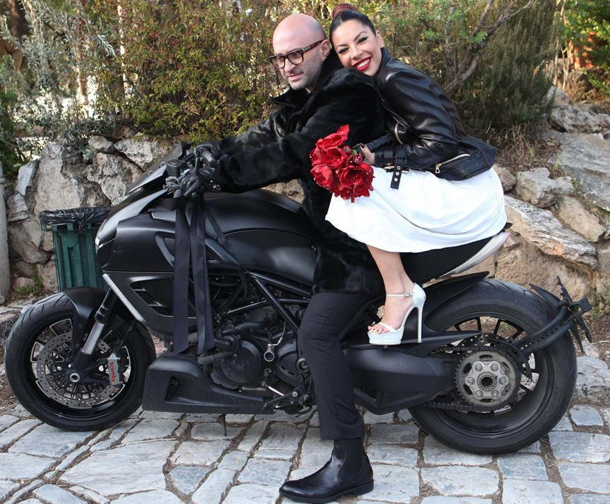 Μαριάντα Πιερίδη: Με τον σύζυγό της στο πιο διάσημο ζαχαροπλαστείο του Παρισιού