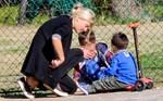 Φαίη Σκορδά: Δείτε τους γιους της να κάνουν ιππασία!