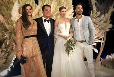 Τανιμανίδης - Μπόμπα: H λαμπερή εμφάνισή τους στη γαμήλια δεξίωση του χλιδάτου γάμου του Acun Ilicali