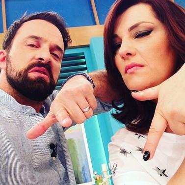 Κατερίνα Ζαρίφη - Γιώργος Λιανός: Παραμένουν στον Alpha με δική τους εκπομπή