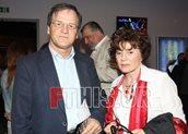 Χρήστος Νικολόπουλος με την σύζυγό του