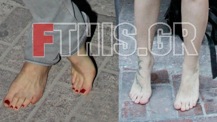 Πολύ γνωστές κυρίες της ελληνικής showbiz, βγήκαν ξυπόλητες στο δρόμο!