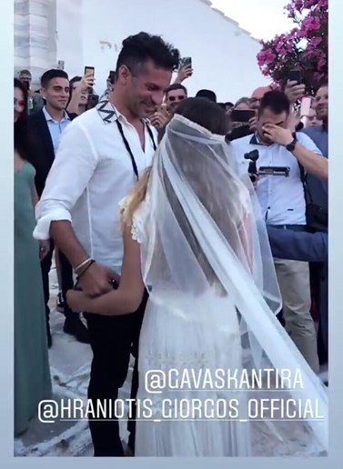 Ο Γιώργος Χρανιώτης και η Γεωργία Αβασκαντήρα παντρεύτηκαν! Οι πρώτες εικόνες