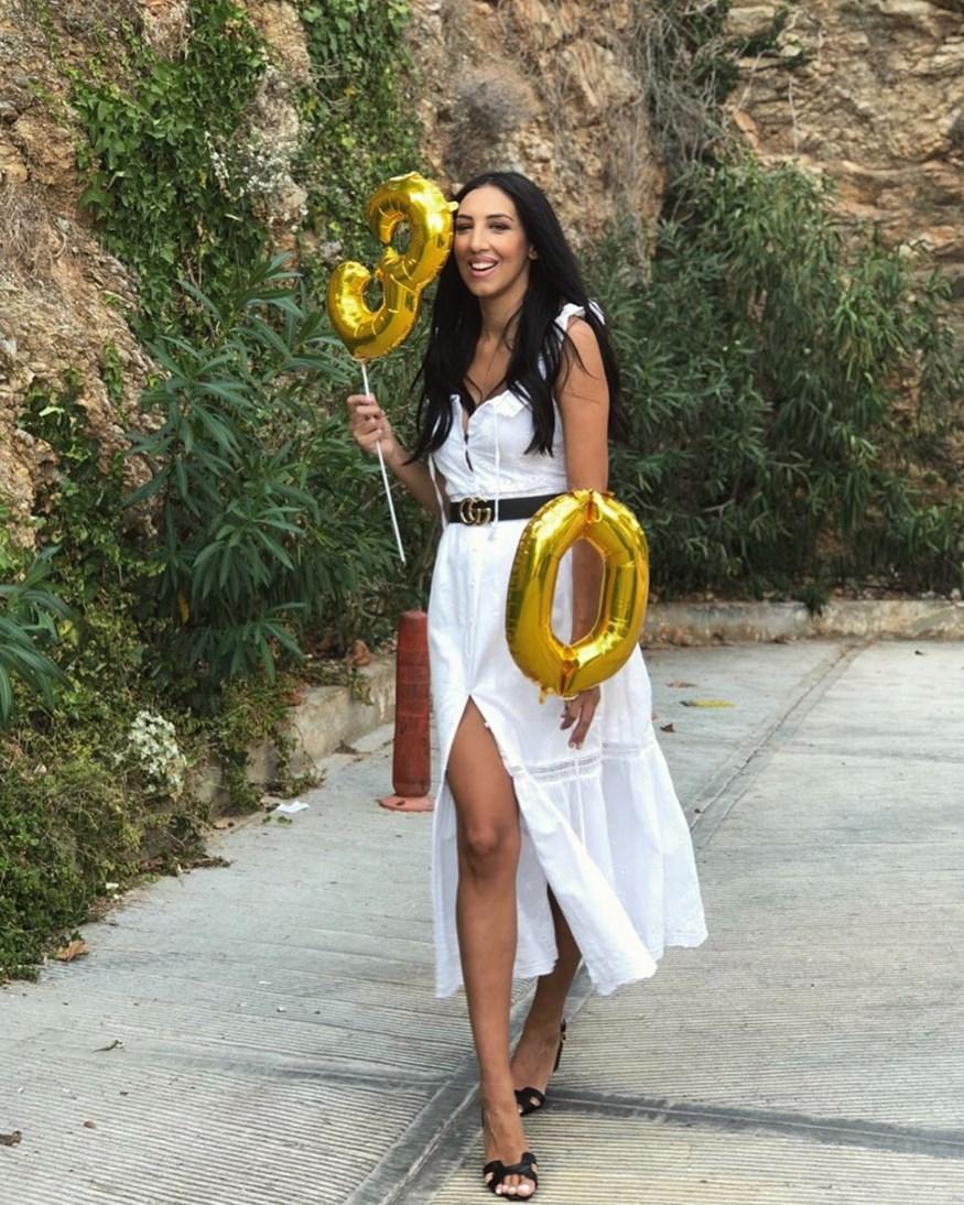 Σοφία Λεοντίτση: Δείτε την τούρτα υπερπαραγωγή για τα γενέθλιά της