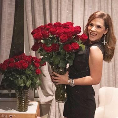 Βάσω Λασκαράκη: Μας δείχνει το σαλόνι του σπιτιού της