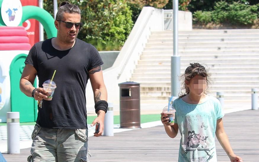 Paparazzi! Γιάννης Αϊβάζης: Δείτε που τον τσακώσαμε μαζί με την κόρη του, Ισμήνη!
