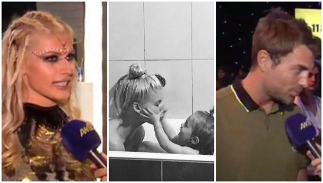 Χανταμπάκης - Πηλιάκη: Απαντούν στα αρνητικά σχόλια για τη φωτογραφία με την κόρη τους στην μπανιέρα