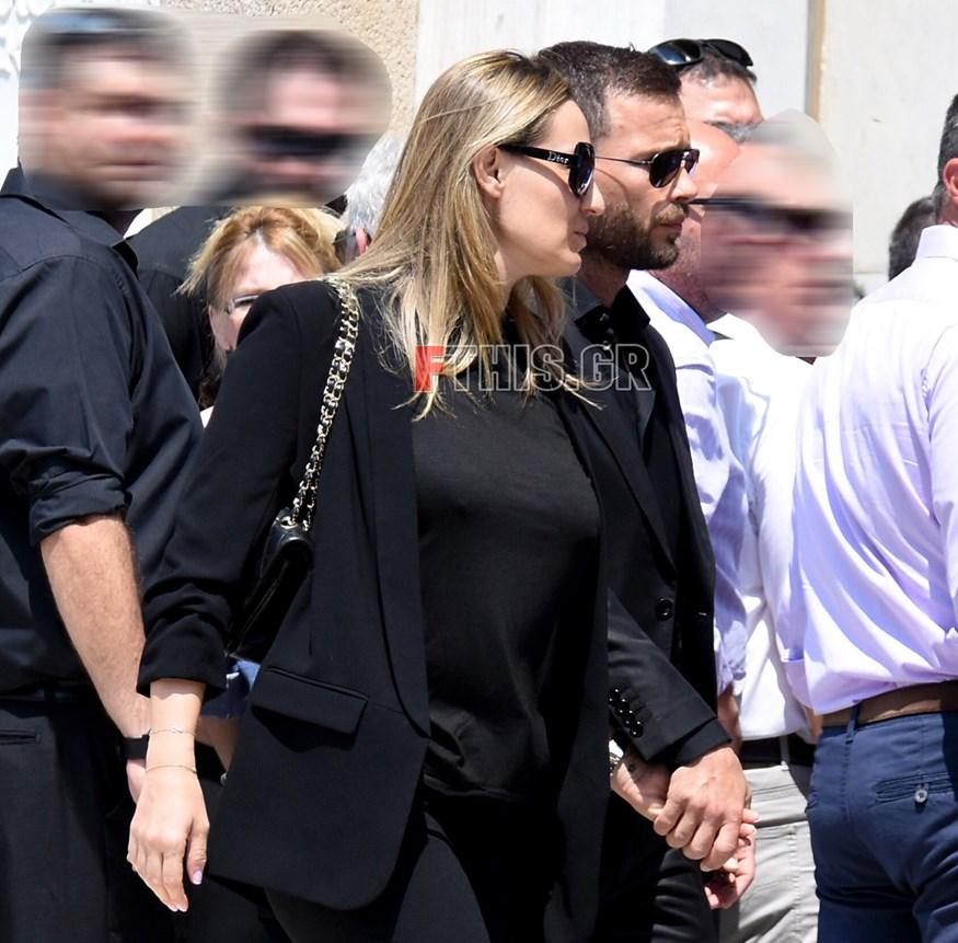 Ελεονώρα Μελέτη - Θοδωρής Μαροσούλης: Στην κηδεία του Παύλου Γιαννακόπουλου