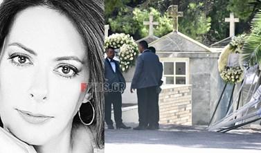 """""""Mια σιωπή πηχτή σκέπασε χθες το κοιμητήριο Νέας Ερυθραίας στο τελευταίο αντίο στη Ρίκα Βαγιάνη"""""""