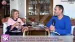 Η Λίτσα Πατέρα ανοίγει το σπίτι της στο Κολωνάκι και μιλάει για τις σχέσεις της σήμερα με την Ελένη Μενεγάκη