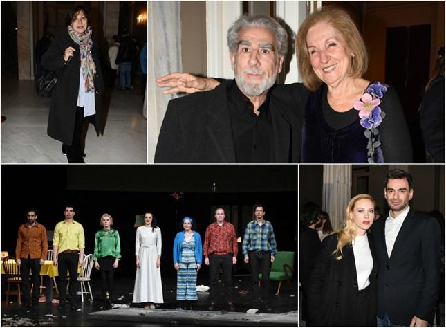 Πρεμιέρα με λαμπερές παρουσίες για την παράσταση Το τραμ με το όνομα Πόθος!