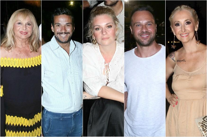 Διάσημοι Έλληνες στο Θέατρο Βράχων για τις Εκκλησιάζουσες - Δείτε φωτογραφίες!