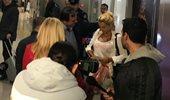 """Κωνσταντίνα Σπυροπούλου: Οι πρώτες φωτογραφίες από το αεροδρόμιο """"Ελευθέριος Βενιζέλος"""""""