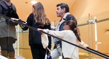 Γιάννης Λάτσιος: Σπάνια εμφάνιση με τις κόρες του, Λάουρα και Βαλέρια!