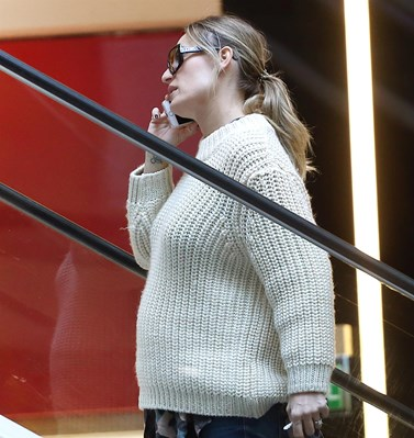 Paparazzi: Η Ελεονώρα Μελέτη για νέες αγορές, στον έβδομο μήνα της εγκυμοσύνης της!