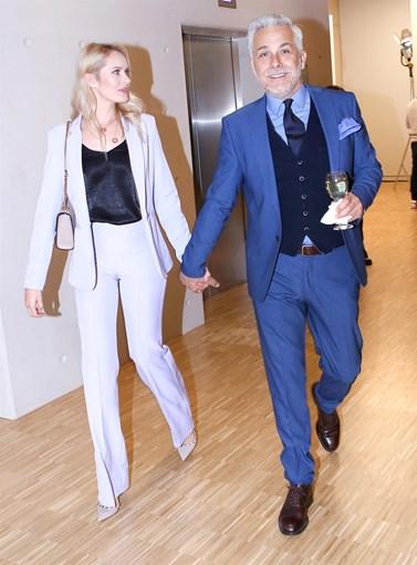 Χάρης Χριστόπουλος – Anita Brand: Χέρι-χέρι σε βραδινή τους έξοδο μετά από καιρό!