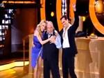 Dancing with the Stars: Ο Κώστας Βουτσάς στη σκηνή με τον Άνθιμο Ανανιάδη και την παρτενέρ του!