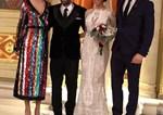 Γάμος στην ελληνική showbiz! Ανέβηκαν τα σκαλιά της εκκλησίας με κουμπάρο τον Κωνσταντίνο Αργυρό