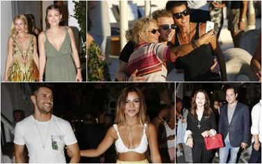 Mykonos Report! Ποιοι celebrities βρέθηκαν στο νησί των Ανέμων στο Σαββατοκύριακο;