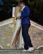 Αλέξανδρος Νικολαΐδης - Δώρα Τσαμπάζη: Βαφτίζουν την ενός έτους κορούλα τους