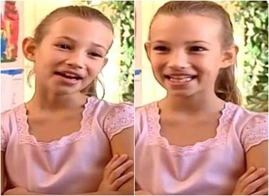 Η μικρή Νεφέλη από της σειρά Λατρεμένοι μου Γείτονες πήρε μέρος στο Next Top Model και... σάρωσε!