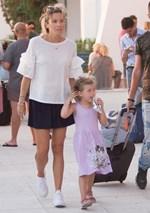 Η Μαριέττα Χρουσαλά επέστρεψε στην Ελλάδα! Δείτε πού βρίσκεται με την οικογένειά της